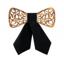 Noeud Papillon Bois Femme - Le Châtaignier