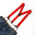 Bretelles Rouge à Boutons - Gustave