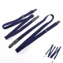 Bretelles Séparées Bleu Marine