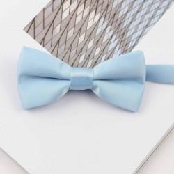 Noeud Papillon Bleu Ciel Enfant - Brillant