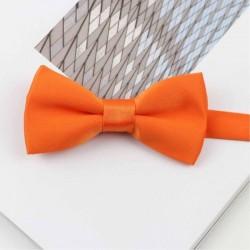 Noeud Papillon Orange Enfant - Brillant