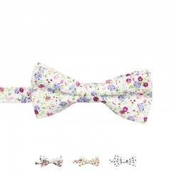 Noeud Papillon Blanc Liberty - Enfant