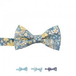 Noeud Papillon Bleu Clair Liberty - Enfant
