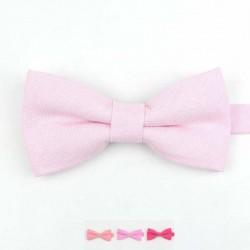 Nœud Papillon Rose - Coton