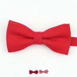 Noeud Papillon Rouge - Coton