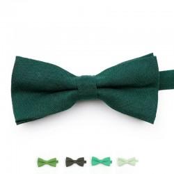 Noeud Papillon Vert - Coton