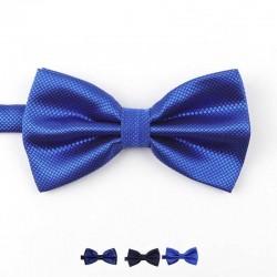 Noeud Papillon Bleu Marine - Brillant